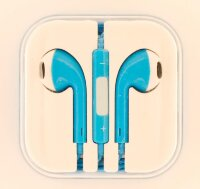 Наушники APPLE iPhone/ iPod/ iPad/ MacBook EarPods (Цвет: Синий)